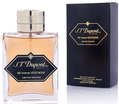 ДЛЯ МУЖЧИН S.T. Dupont 58 Avenue Montaigne Pour Homme Limited Edition EDT 100 ml для мужчин