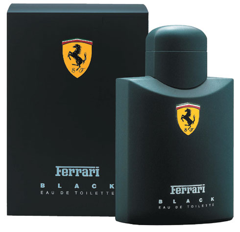 ДЛЯ МУЖЧИН Ferrari Black EDT 125 ML для мужчин