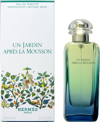 УНИСЕКС Hermes Un Jardin Apres la Mousson EDT 100 ML унисекс