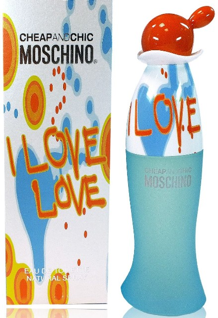 ДЛЯ ЖЕНЩИН Moschino Cheap & Chic I Love Love EDT 100 ml для женщин