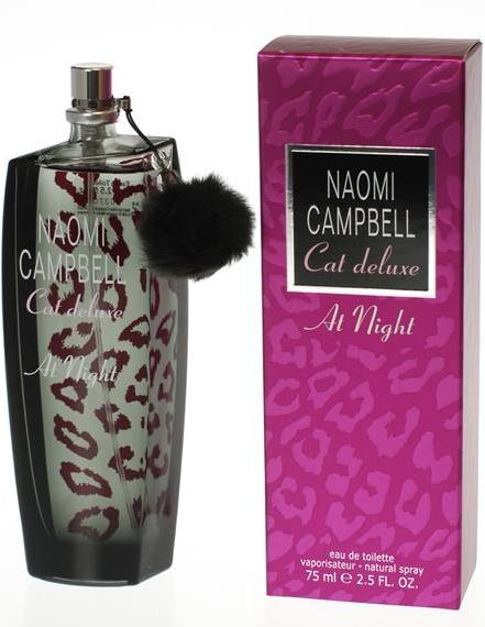 ДЛЯ ЖЕНЩИН Naomi Campbell Cat Deluxe At Night EDT 75 ml для женщин