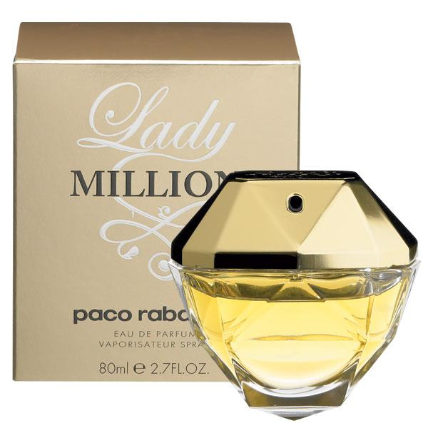 ДЛЯ ЖЕНЩИН Paco Rabanne Lady Million EDP 80 ml для женщин