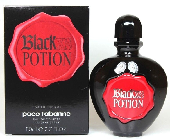 ДЛЯ ЖЕНЩИН Paco Rabanne Black XS Potion EDT 80 ml для женщин