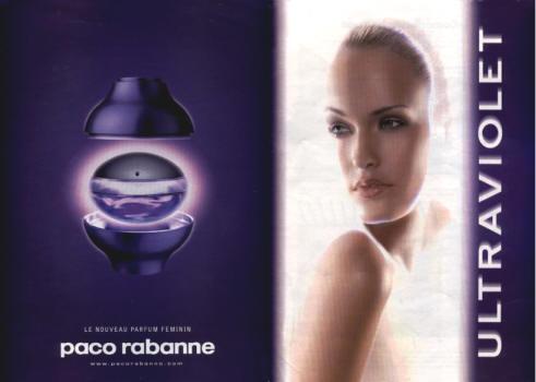 ЖЕНСКИЕ Paco Rabanne Ultraviolet For Woman EDP 80 ml (ЛИЦЕНЗИЯ)