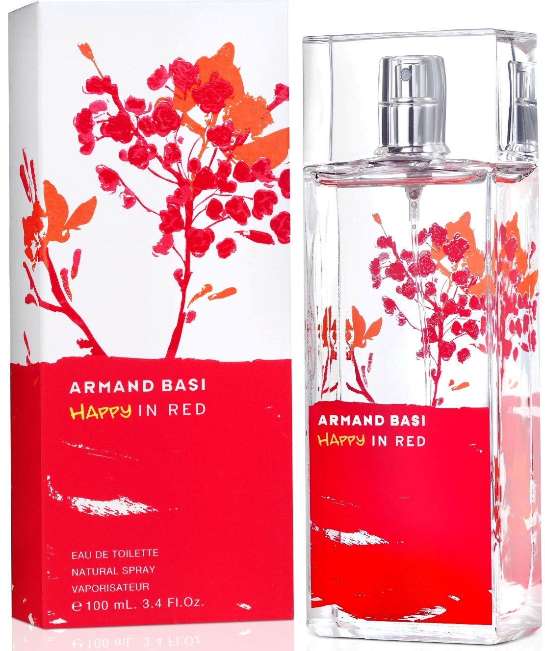 ДЛЯ ЖЕНЩИН Armand Basi Happy in Red EDT 100 ML для женщин