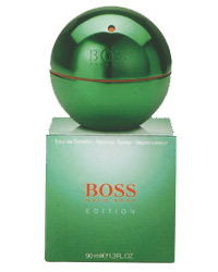 МУЖСКИЕ Boss in Motion Edition Green  EDT 90 ML (ЛИЦЕНЗИЯ)