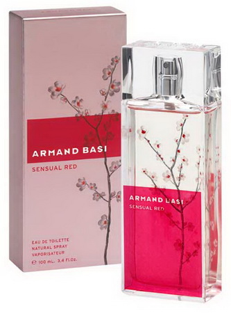 ДЛЯ ЖЕНЩИН Armand Basi Sensual Red EDT 100 ML для женщин