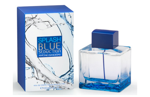 ДЛЯ МУЖЧИН Antonio Banderas Splash Blue Seduction for Men EDT 100 ML для мужчин
