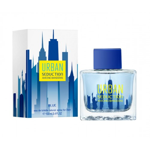 ДЛЯ МУЖЧИН Antonio Banderas Urban Seduction Blue EDT 100 ML для мужчин