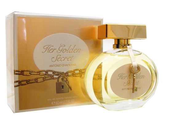 ДЛЯ ЖЕНЩИН Antonio Banderas Her Golden Secret EDT 80 ML для женщин