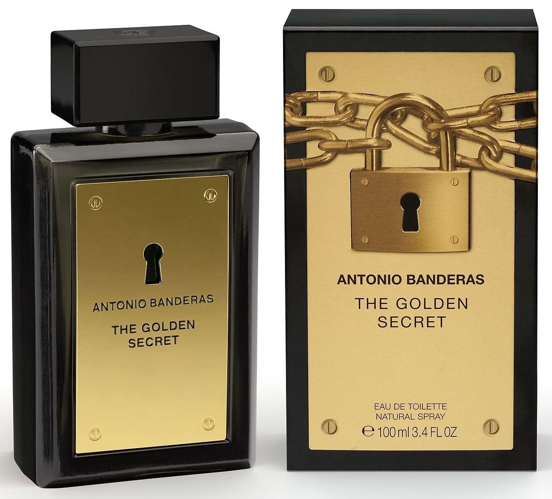 ДЛЯ МУЖЧИН Antonio Banderas The Golden Secret EDT 100 ML для мужчин