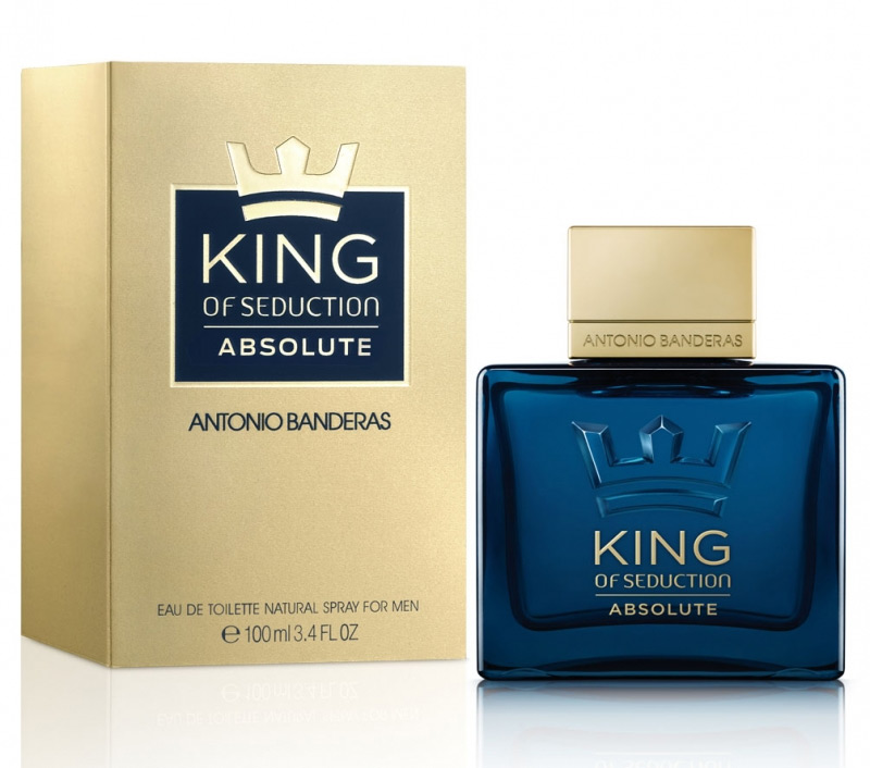 ДЛЯ МУЖЧИН Antonio Banderas King of Seduction Absolute EDT 100 ML для мужчин