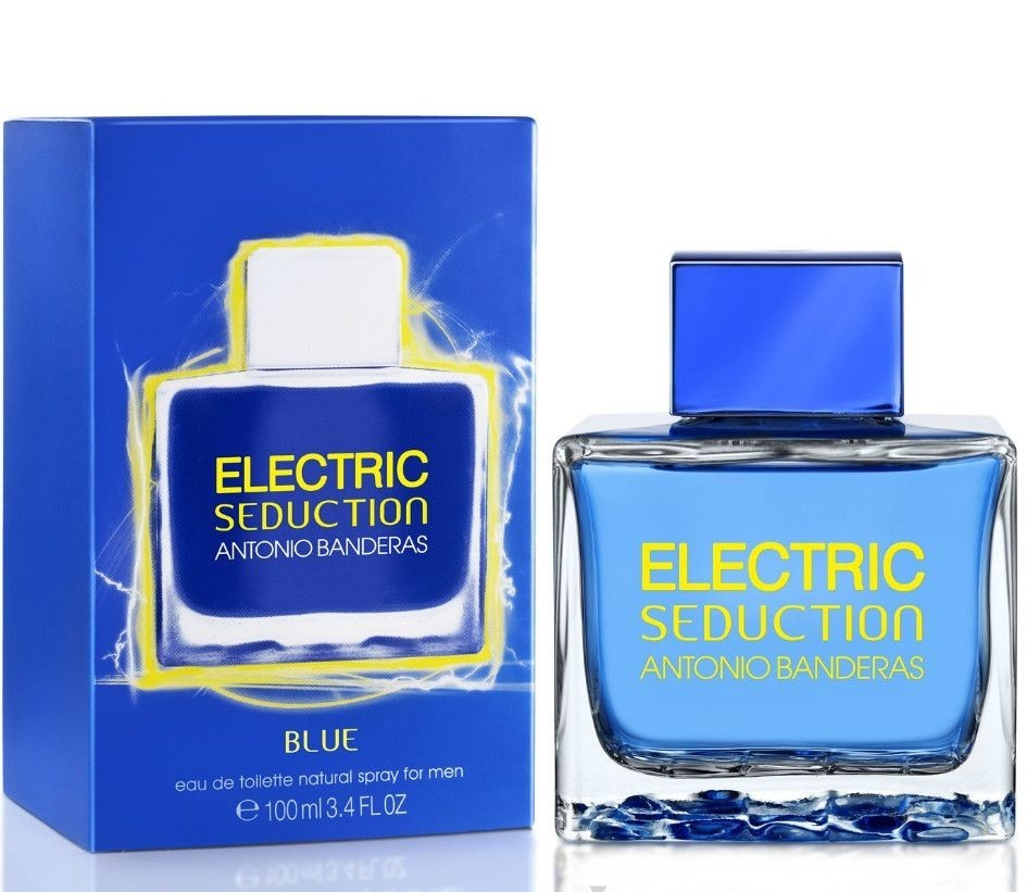 ДЛЯ МУЖЧИН Antonio Banderas Electric Seduction Blue for Men EDT 100 ML для мужчин