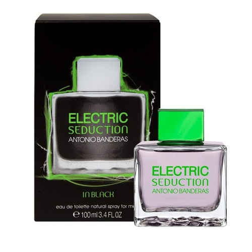 ДЛЯ МУЖЧИН Antonio Banderas Electric Seduction in Black EDT 100 ML для мужчин