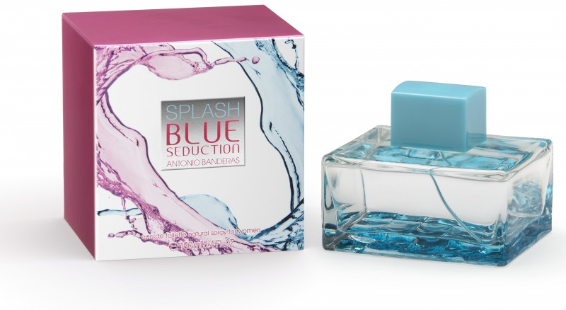 ДЛЯ ЖЕНЩИН Antonio Banderas Splash Blue Seduction for Women EDT 100 ML для женщин