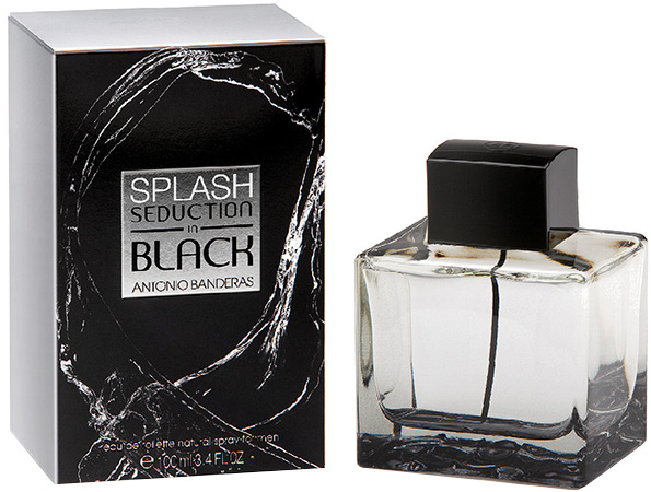 ДЛЯ МУЖЧИН Antonio Banderas Splash Seduction In Black EDT 100 ML для мужчин